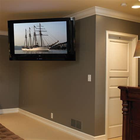 large flat panel swing arm wall display mount