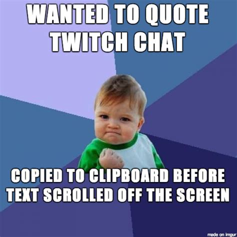 Twitch Chat Memes - twitch chat memes