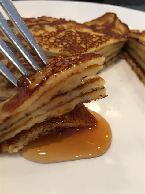 if you like pancakes that are thicker than a crepe but