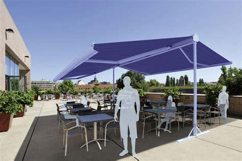 store parasol pente professionnel store 224 pied marquises grenat onx ou sun abri design