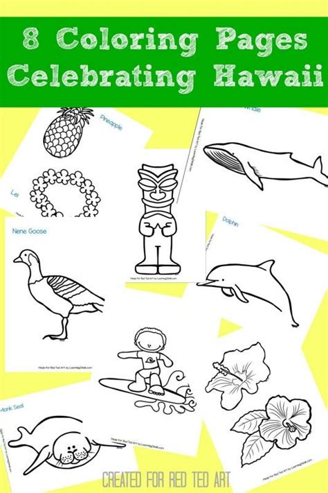 8 hawaiian coloring pages for craft ideas for pre 191 | 18120b8e0d65f695b012aec1bdb4f9a8