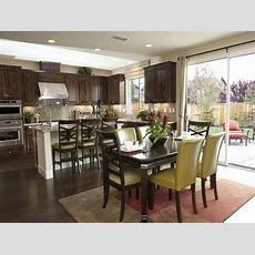 Dining Room Kitchen Island Next To Dining Table Pictures