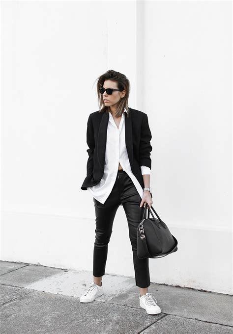 Modern legacy fashion blog street style boyish monochru2026 | Flickr
