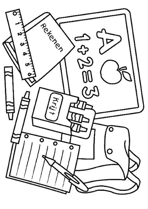 Kleurplaten School by School Kleurplaten