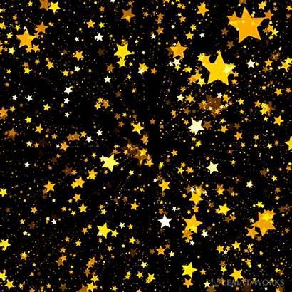 Stars Golden Twinkle Glitter Animated Gifs Animation