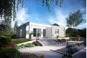 bungalow mit flachdach flachdach bungalow bauen e 10 119 2 schw 246 rerhaus