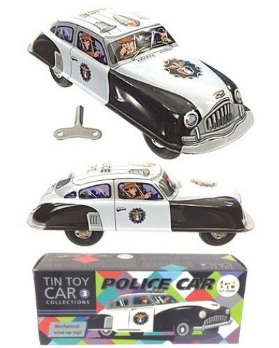 Police Car Toy Wind Up