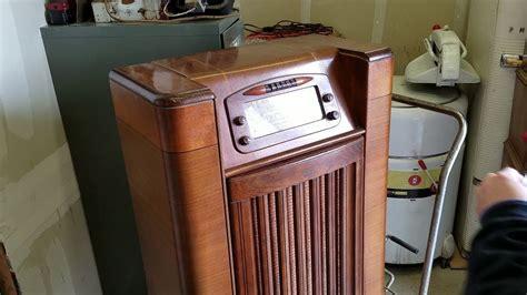 philco radio 1947 47 1230 phono tube am fm bench teardown test