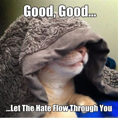 Let The Hate Flow Through You Meme - topic f you old bill you f motherf er mgtow