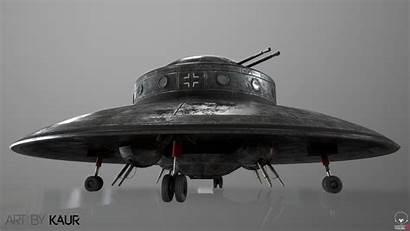 Haunebu Ii Flying Saucer German Artstation Wwii