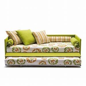 canape lit gigogne jack meubles et atmosphere With le canapé lit