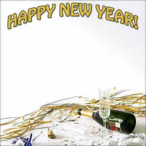 Happy New Year Border Clip Art