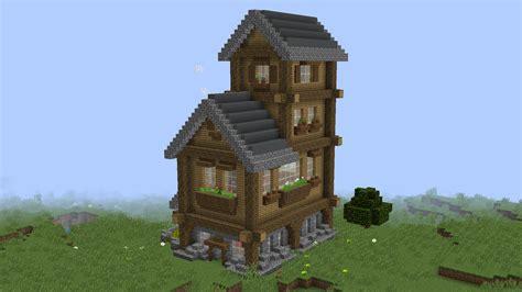 herunterladen small rustic house  mb karte fuer minecraft