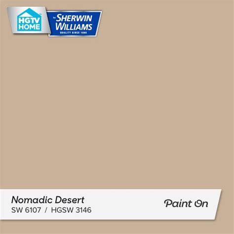 i really like this paint color nomadic desert what do
