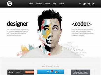 Portfolio Website Web Designer Site Developer Creative