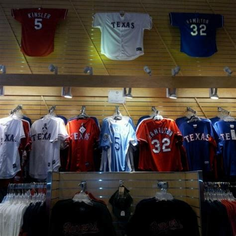 Texas Rangers Team Shop - Downtown Fort Worth - 199 visitors