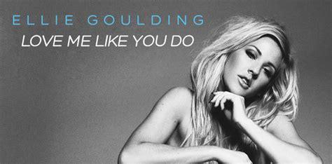 """Ellie Goulding Presenta Su Nueva Canción """"love Me Like You Do"""""""