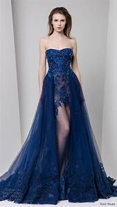 Tony ward fall 2016 ready to wear dresses wedding inspirasi for Blue dresses to wear to a wedding