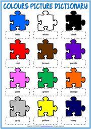 color worksheet esl coloring wall