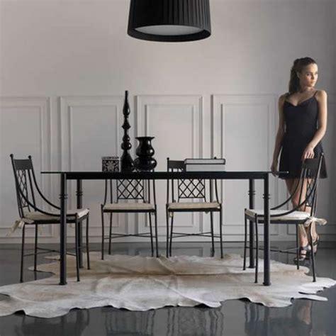 chaise fer forgé pas cher chaise en fer forgé marsella 4 pieds tables chaises