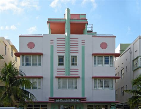 panoramio photo of miami deco district mcalpin hotel