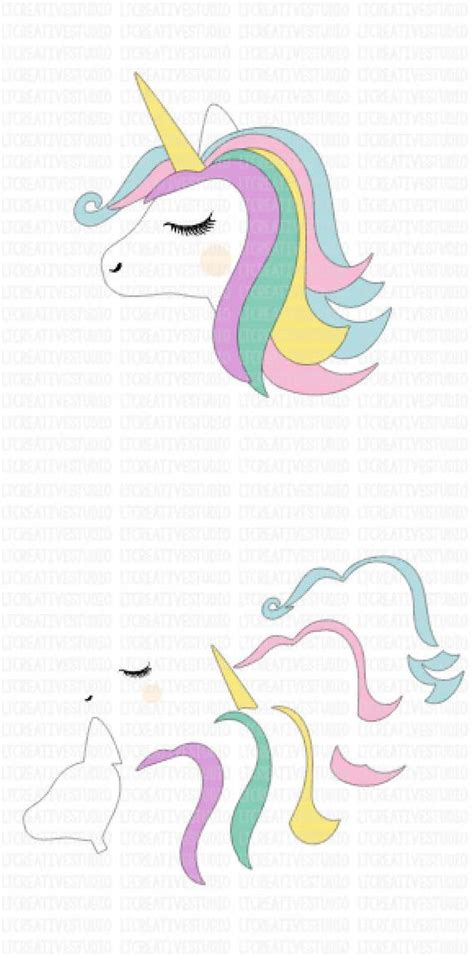 If you have a fontbundles plushub membership, you can also grab this adorable unicorn svg file set for free. Unicorn SVG Unicorn Head SVG Unicorn Face Svg Unicorn