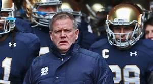 Notre Dame Head Coach Brian Kelly Faces Tough Questions ...