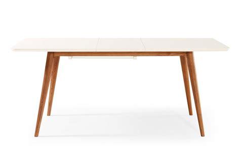 tables et chaises de salle table de salle à manger extensible scandinave wyna dewarens