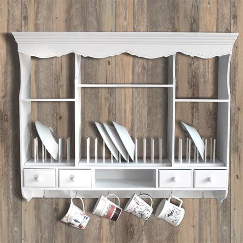 wall rack plate rack dresser cottage vintage kitchen welsh dresser antique ebay