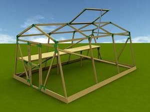 Tomatenhaus Holz Bausatz : varioquick steckelemente zum bau von vielseitigen konstruktionen mit latten 24 x 48mm ~ Whattoseeinmadrid.com Haus und Dekorationen