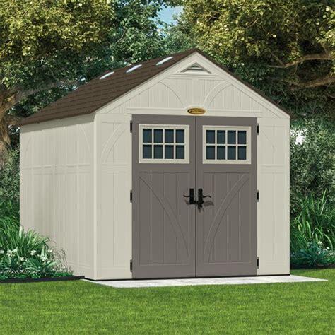 suncast tremont shed suncast bms8100 tremont 3 shed 8x10