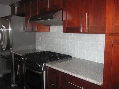 designs for backsplash in kitchen white glass subway tile contemporary kitchen backsplash 8677