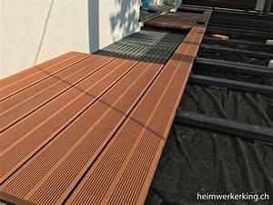 Dielenbretter Für Terrasse : wpc terrasse selber verlegen heimwerkerking ~ Michelbontemps.com Haus und Dekorationen