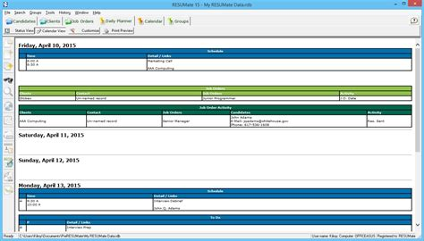 How To Make A Resumate by 7 Daily Planning And Using Resumate While You Re On The