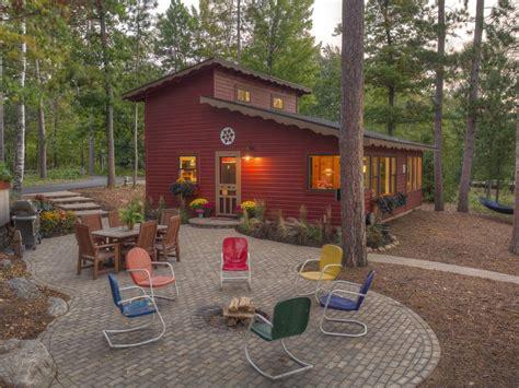 classic minnesota cabin  beautiful lake obrien