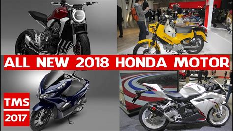 New Honda Motocycles Models 2018