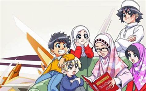 anime islam bergerak gambar kartun muslimah berdo a bergerak comel kumpulan