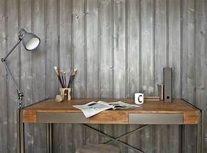 Peinture Bois Effet Vieilli : peindre lambris fonc en blanc idees de dcoration ~ Preciouscoupons.com Idées de Décoration