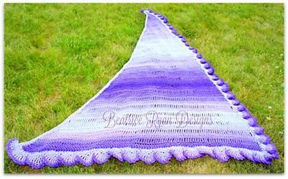 Shawl Fades Purple Beatriceryandesigns