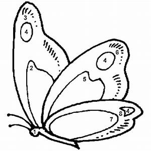 Dessin Facile Papillon : coloriage magique facile papillon en ligne gratuit imprimer ~ Melissatoandfro.com Idées de Décoration