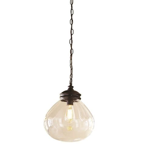 allen roth 12 in bristow edison style pendant light with