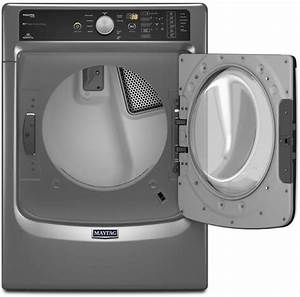 Maytag Med8100dc 27 Inch 7 4 Cu  Ft  Electric Dryer With 9