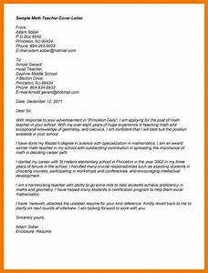 17 written application for the post of teacher mbta online With cover letter for ta