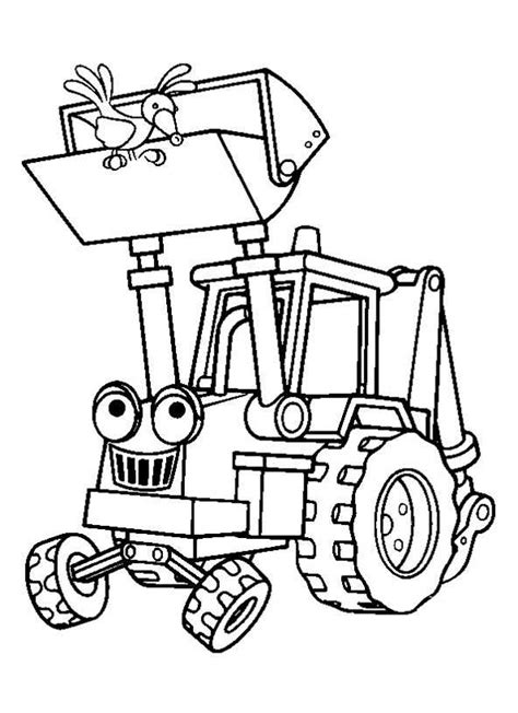 Permalink to Bob The Builder Coloring Pages