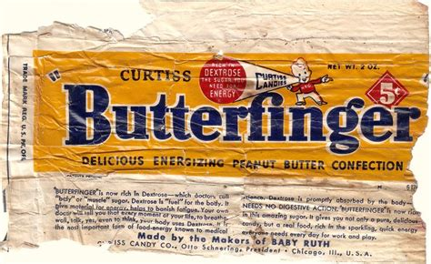 butterfinger candy wrapper archive