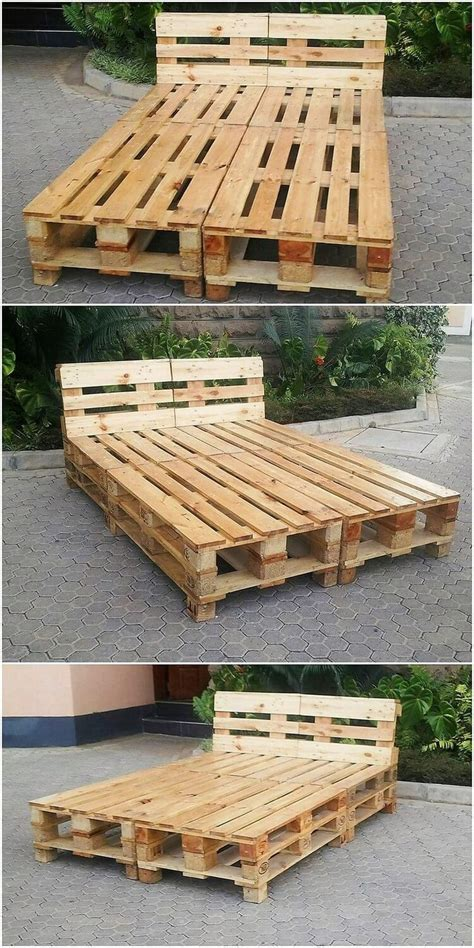 easiest diy ideas  recycled wood pallets