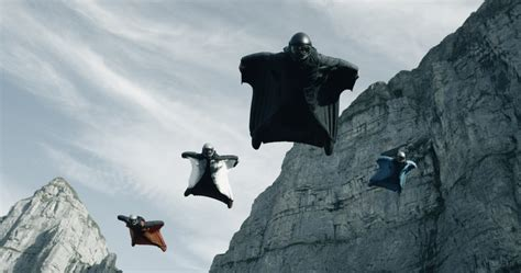 New Point Break Sets BASE Jumping History | Abenaki