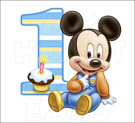 mickey mouse birthday clipart  clipartioncom