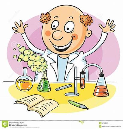 Experiment Clipart Scientist Successful Happy Chemie Chemistry