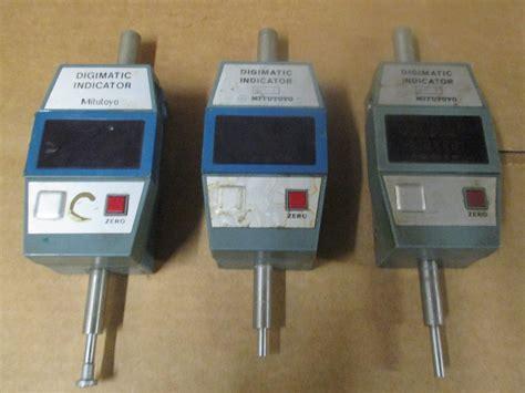 Lot Of 3 Mitutoyo Digimatic Indicator 5432411 Type Id